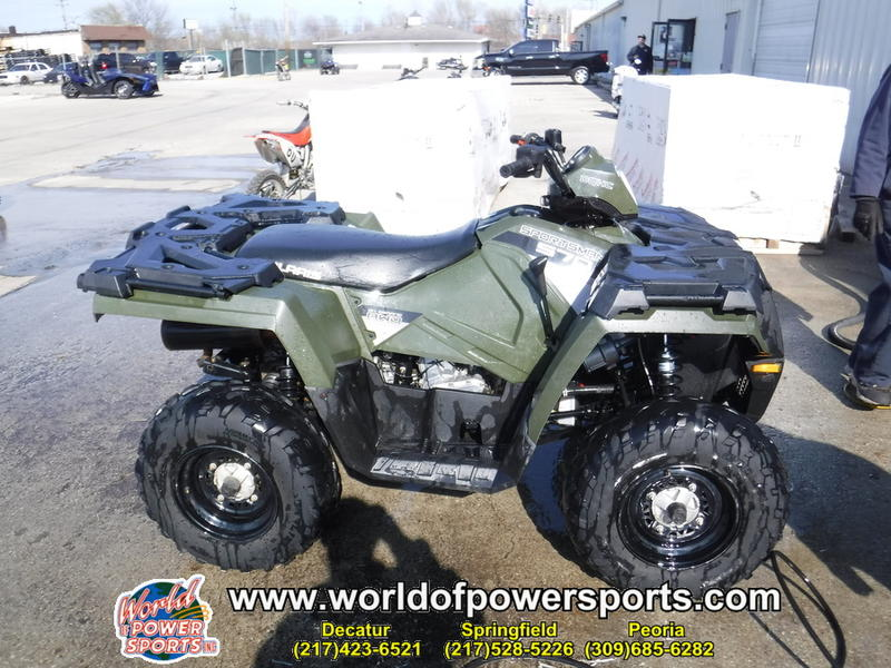 2015 Polaris® Sportsman® 570 EPS Sage Green | World of