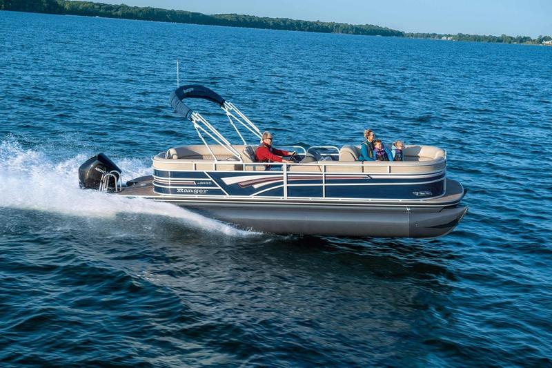 New  2019 Ranger Boats 243C Pontoon Boat in Hammond, Louisiana