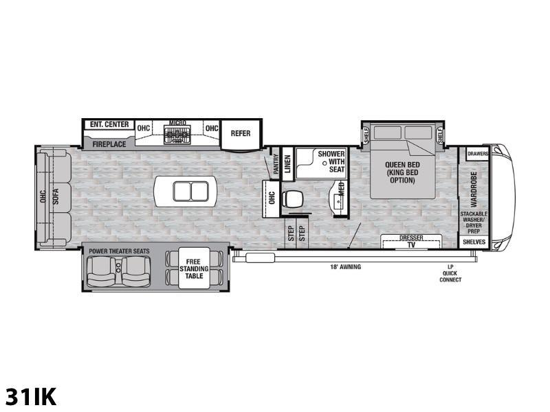2002 Cedar Creek 5th Wheel Floor Plans
