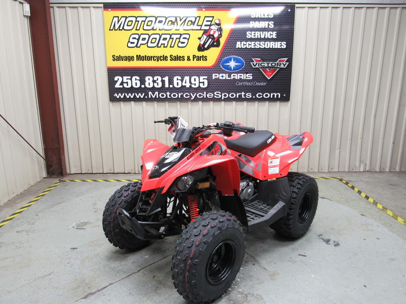 2019 Can-Am® DS 90™ Stock: C00596   Motorcycle Sports