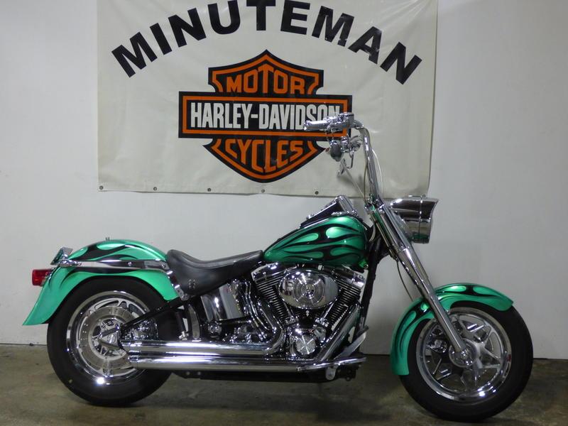 2003 Harley-Davidson® FLSTFI - Fat Boy® Injection