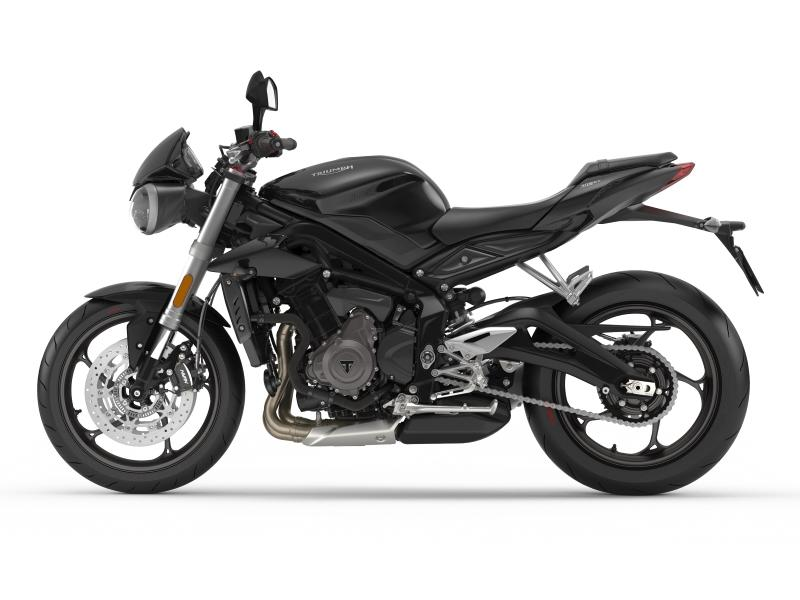 2018 Triumph Street Triple S Phantom Black for sale 58865