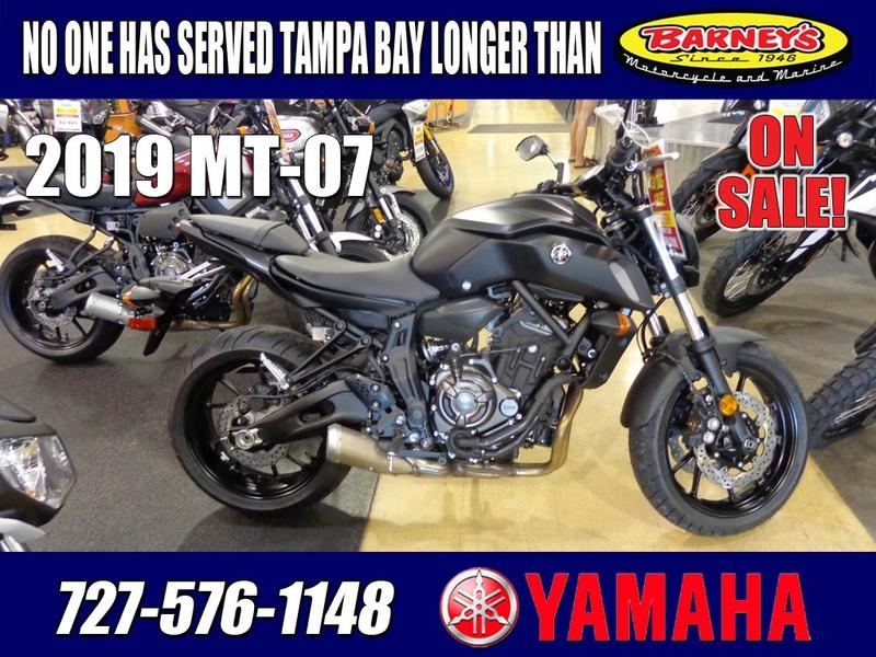 2019 Yamaha MT-07 Stock: 002883 | Barney's of St  Pete