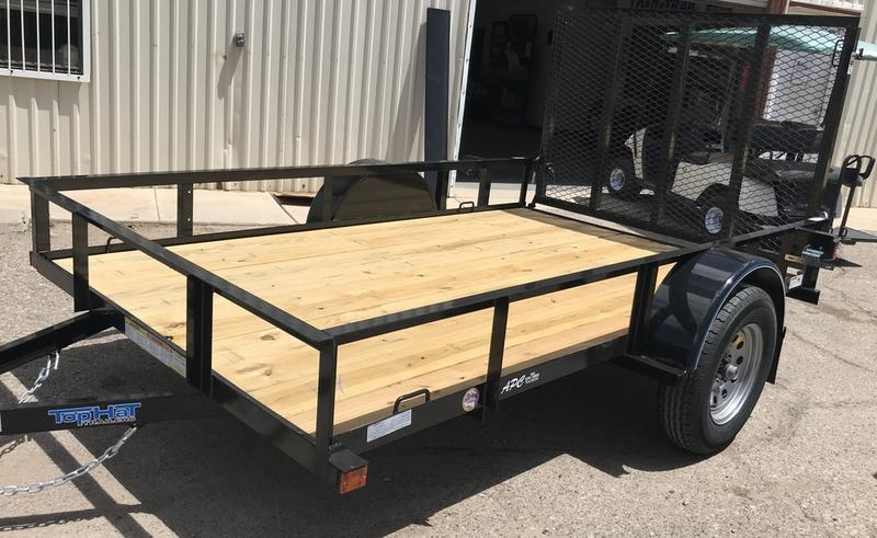 2020 Top Hat Trailers 6x10 X Express 92914