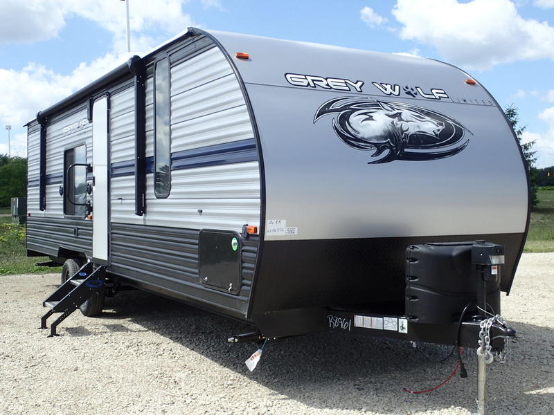 2019 forest river cherokee grey wolf 26rr r8961 price right auto rv. Black Bedroom Furniture Sets. Home Design Ideas