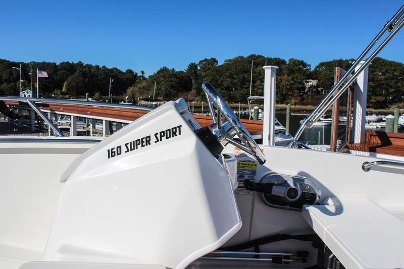 2019 Boston Whaler boat for sale, model of the boat is 160 Super Sport & Image # 2 of 9