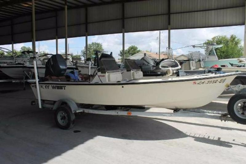 Used 1992 key west boats 1700 dc fishing boat in marrero for Key west fishing boats