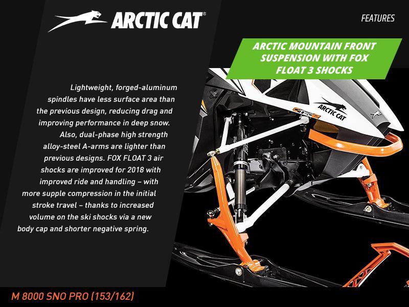 2018 Arctic Cat® M 8000 SNO PRO (153) | Enumclaw Powersports