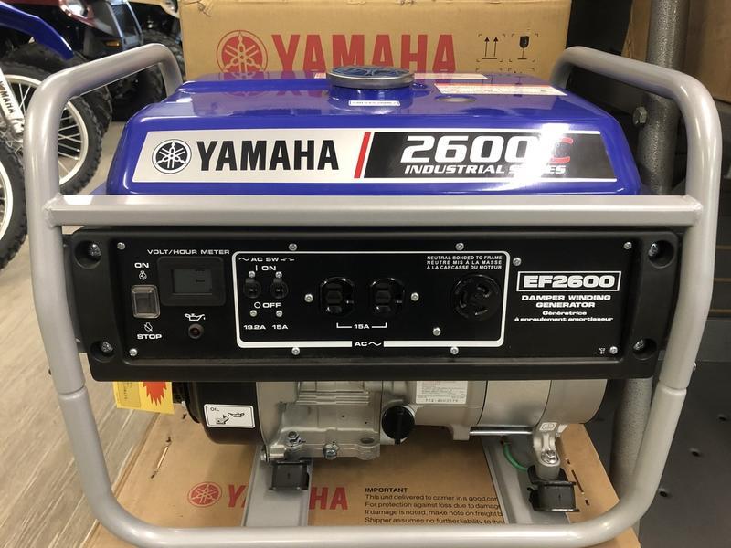 2019 Yamaha Power Portable Generators EF2600   Ken's Marine