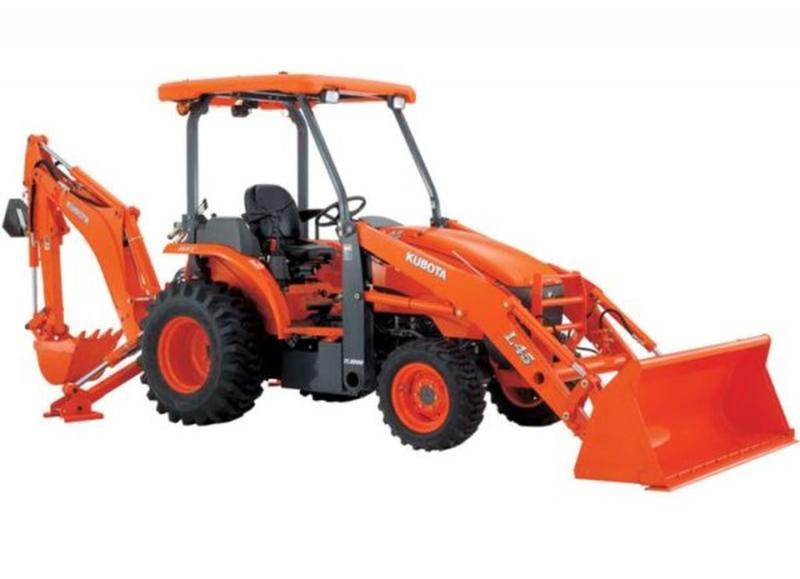 2016 Kubota L45TLB 13473372 | Island Tractor