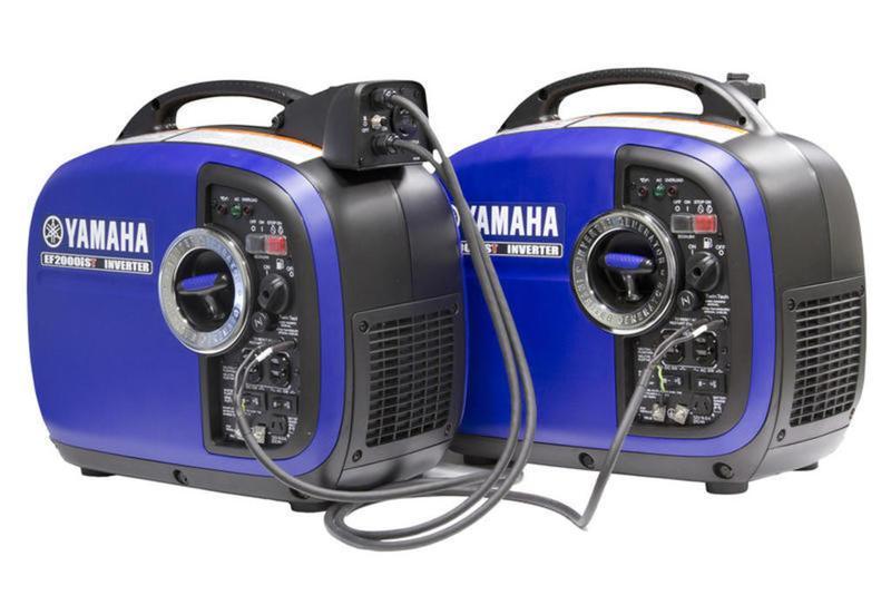2019 Yamaha Power Portable Generators EF2000iST Twin