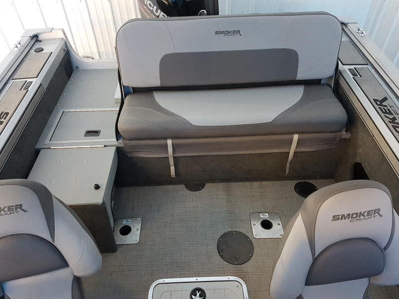 2017 Smoker Craft boat for sale, model of the boat is Pro Mag 172 & Image # 8 of 10
