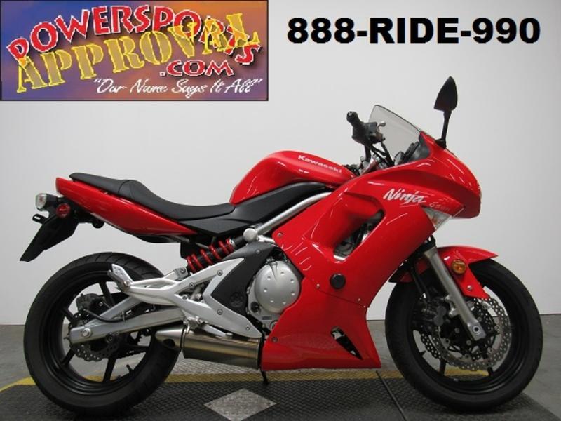 2007 Kawasaki Ninja 650r U4443 Approval Powersports