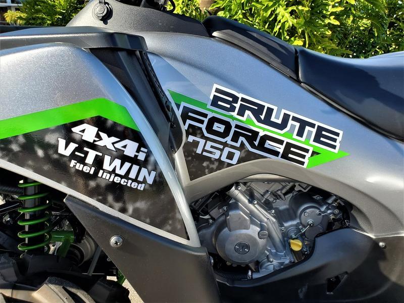 2019 Kawasaki Brute Force 750 4x4i Eps Atomic Silver Fun