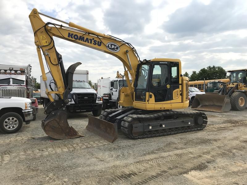 2016 KOMATSU PC138USLC-11 Crawler Excavator