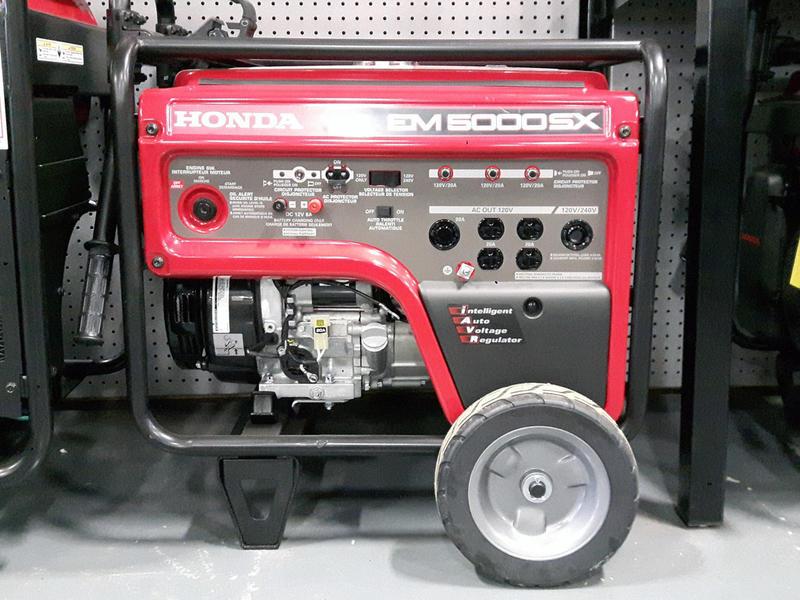 honda em5000s generator oil change