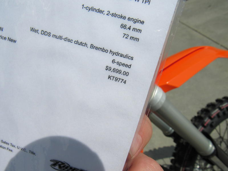 2019 KTM 250 XC-W TPI | RideNow
