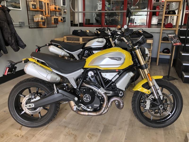 Ducati Scrambler 1100 Frame End Caps 18+
