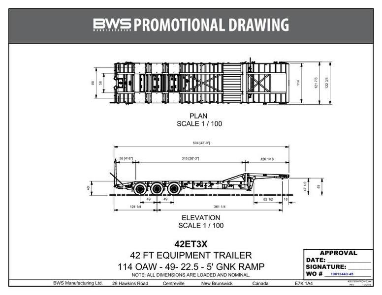 2020 BWS 42ET3X114 - Standard Stock: LA001143 | Bell International
