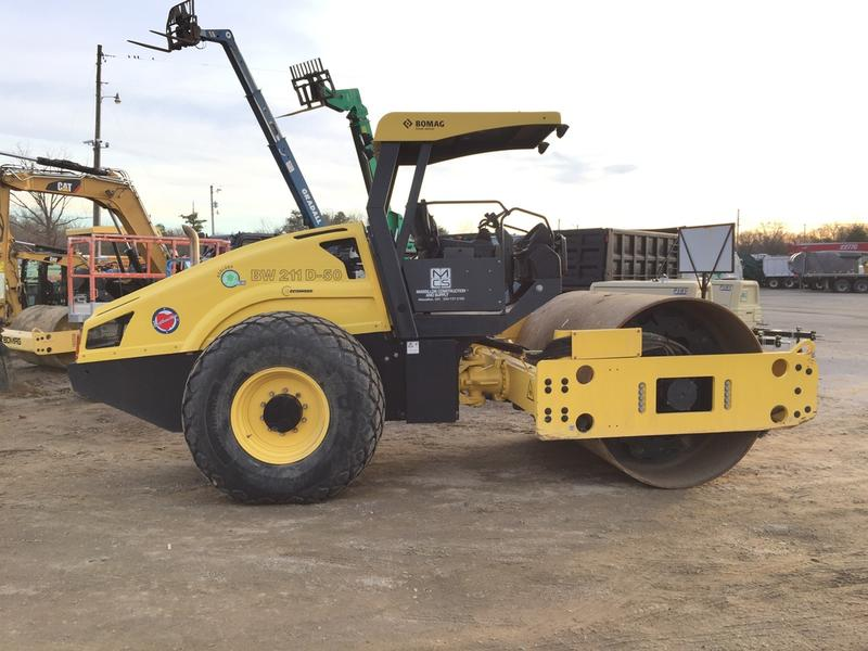 2014 BOMAG BW211D50 Drum / Roller Compactor