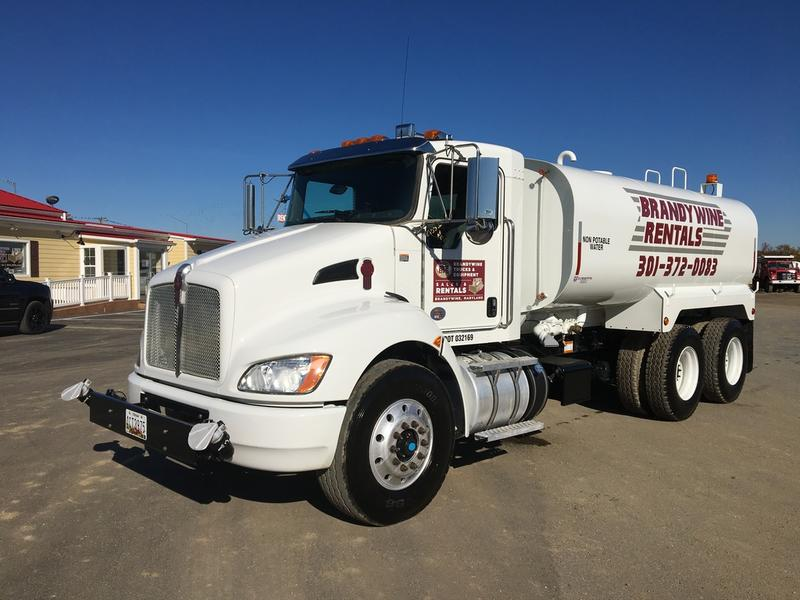 NEW 2017 KENWORTH T370 WATER TRUCK #448378