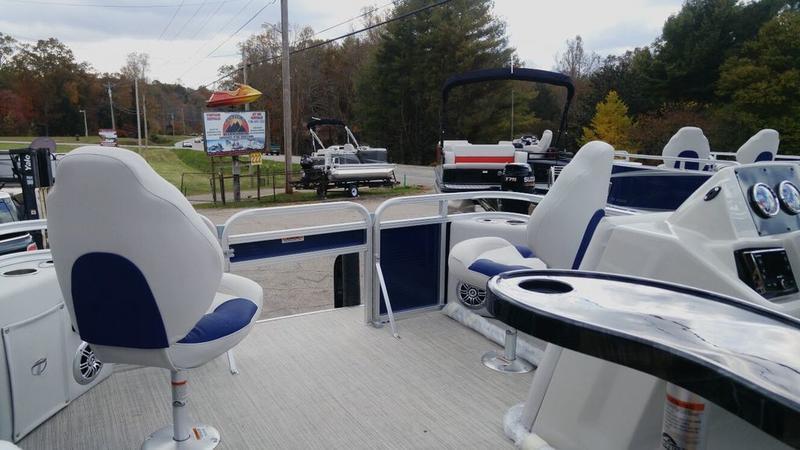 Miraculous 2018 Tahoe Sport Bow Fish 14 Allpontoons Com Alphanode Cool Chair Designs And Ideas Alphanodeonline