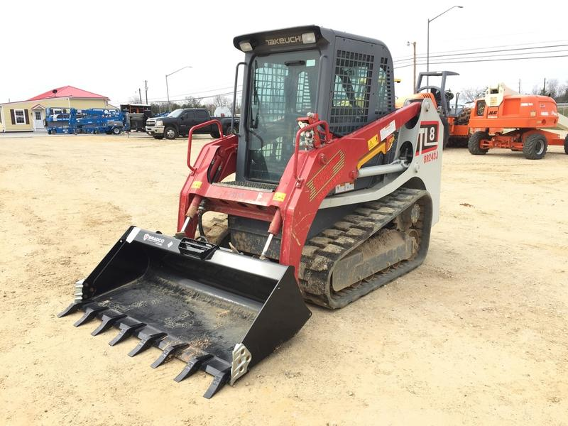 2016 TAKEUCHI TL8 SKID STEER CRAWLER 547236 Skid Steer Crawler