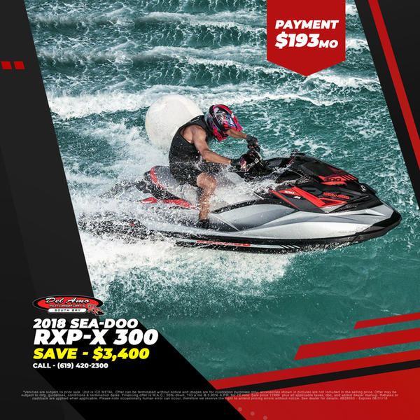 2018 Sea-Doo RXP®-X® 300 | Del Amo Motorsports of South Bay