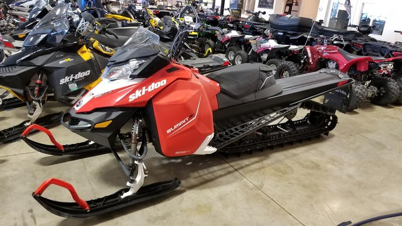 2016 Ski Doo Summit SP With T3 Package ROTAX 800R E TEC 154