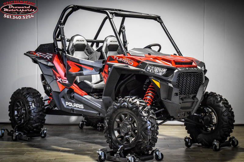 2018 Polaris RZR XP Turbo EPS FOX Edition Matte Sunset Red for sale 59192