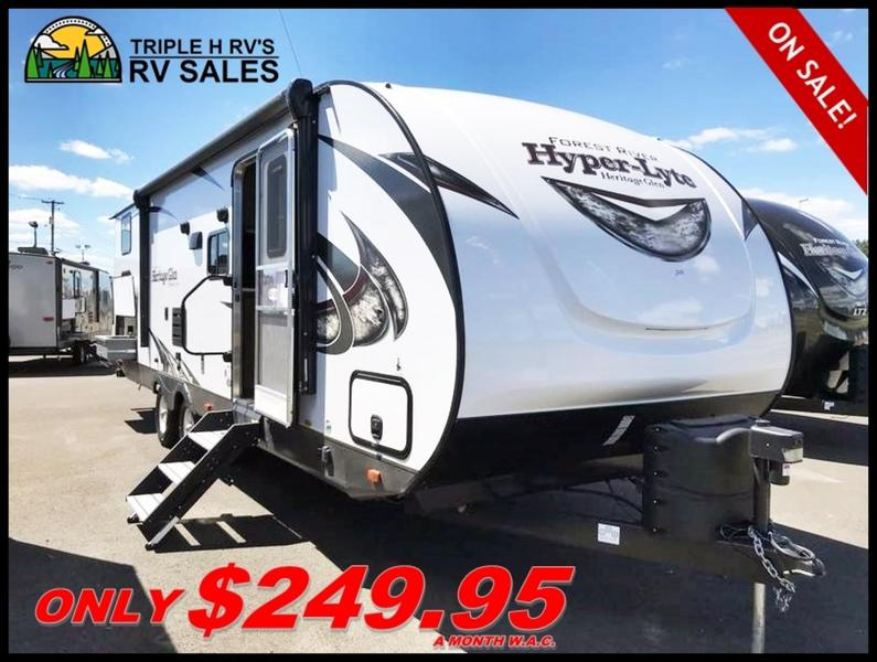 2018  Wildwood Heritage Glen Hyper-Lyte 29BHHL for sale 58238