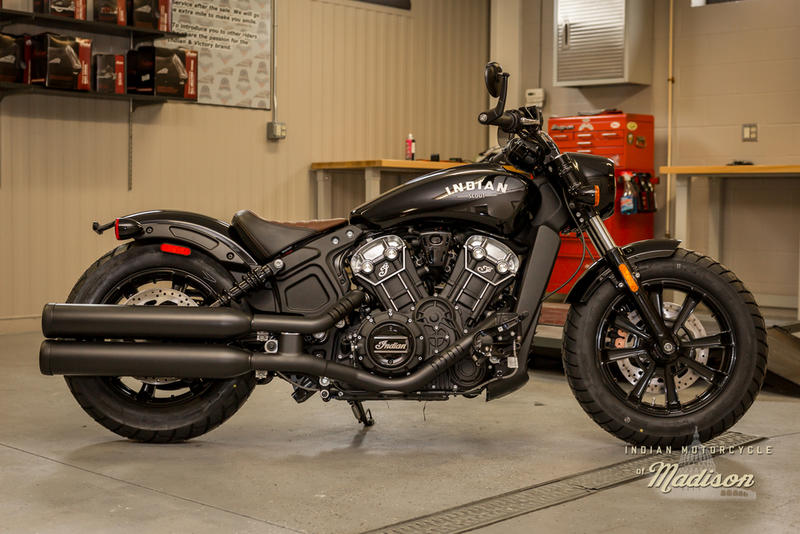 2019 Indian Motorcycle® Scout® Bobber Thunder Black | Indian