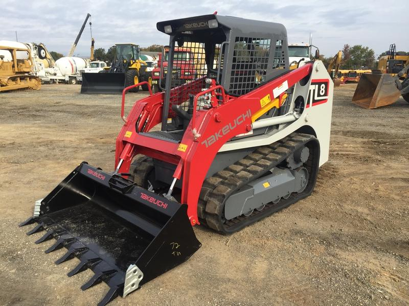 2017 TAKEUCHI TL8 SKID STEER CRAWLER 538597 Skid Steer Crawler