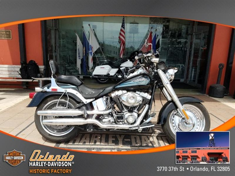 2009 Harley Davidson FLSTF Softail Fat Boy