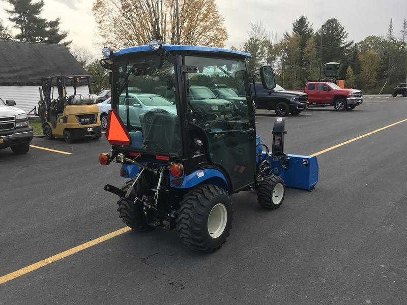 2019 LS Tractor MT125 W/Heated Cab and Front Snowblower | Outdoor