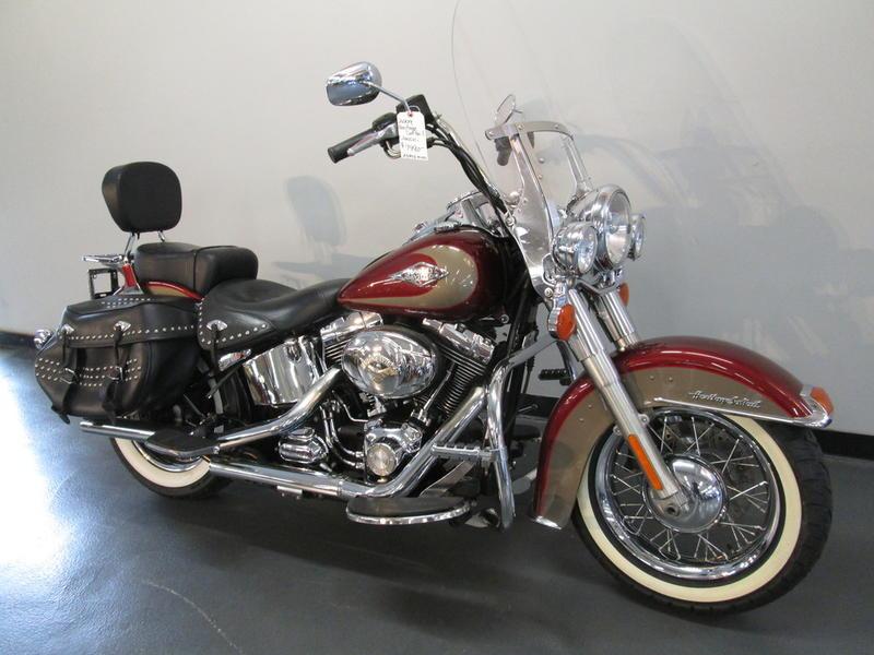 2009 Harley-Davidson FLSTC - Heritage Softail 2