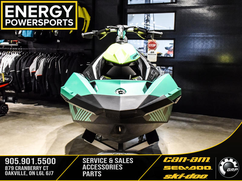 2019 Sea Doo PWC boat for sale, model of the boat is Spark® Trixx 3-up Rotax® 900 H.O. ACE™ IBR & Sound System & Image # 8 of 13