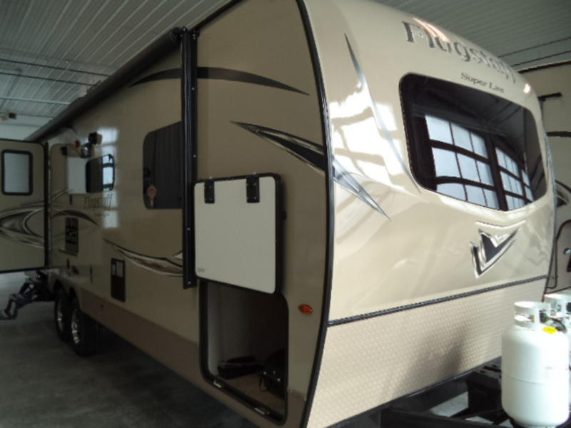 2018 Forest River Flagstaff Super Lite Travel Trailers 26RBWS Stock
