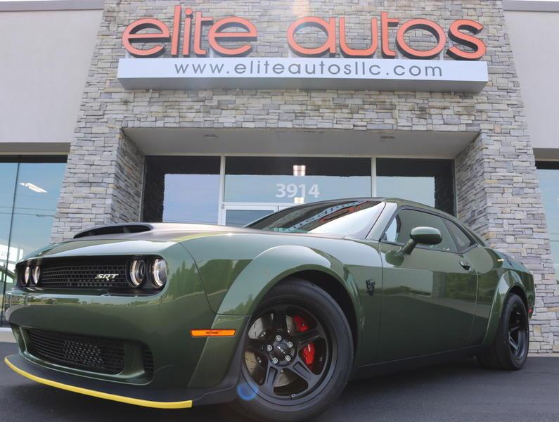 2018 dodge challenger srt demon f8 green elite autos llc rh eliteautosllc com