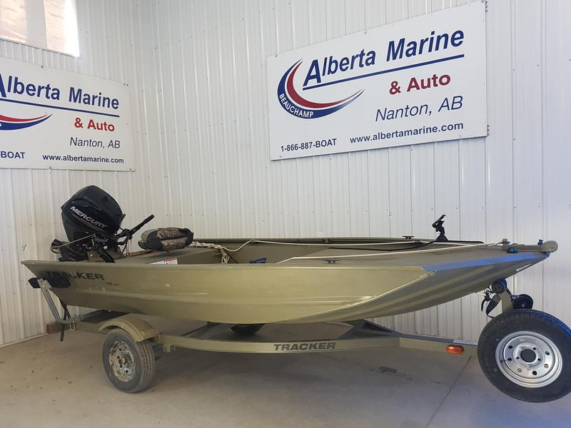 For Sale: 2017 Tracker Boats Grizzly® 1448 Mvx Jon ft<br/>Alberta Marine