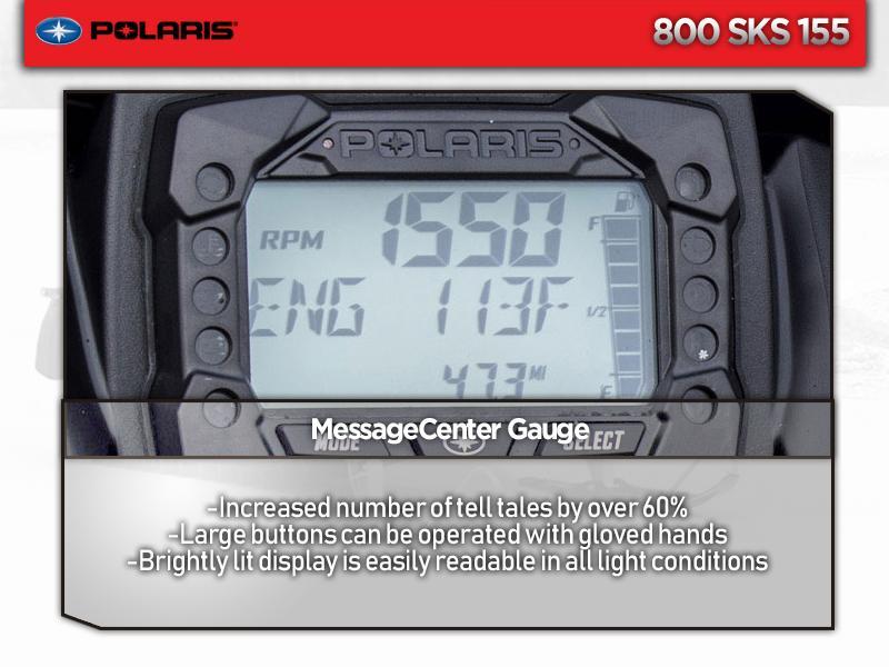 2019 Polaris® 800 SKS 155 SC Select | Enumclaw Powersports