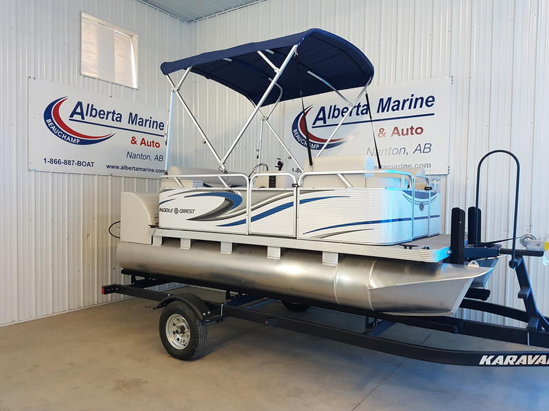 For Sale: 2018 Apex Pontoons 614 Family Cruise ft<br/>Alberta Marine
