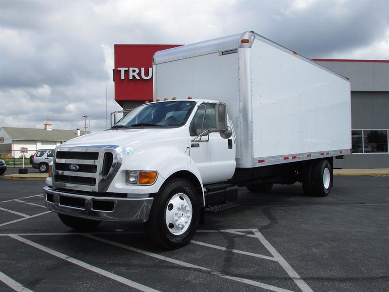 2013 Ford F650 Super Duty 24 Ft Box Truck BOX VAN TRUCK 574612 Box Van Truck