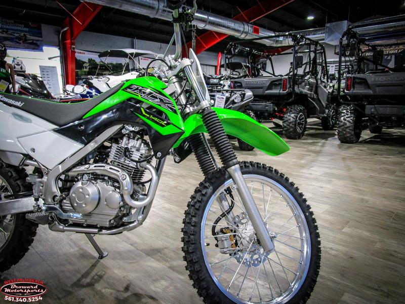 2019 Kawasaki KLX 140L 10