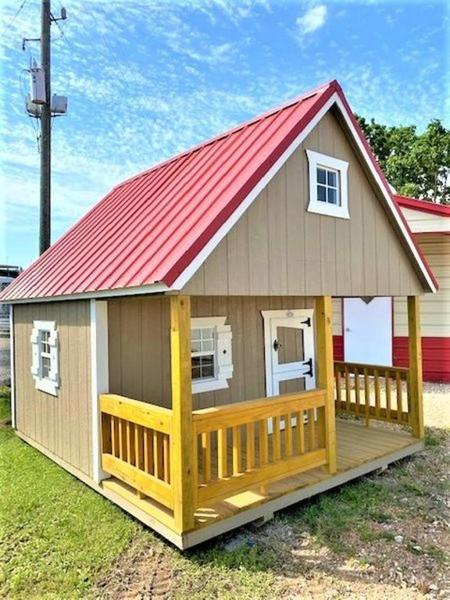 United Portable Buildings 10' x 12' Playhouse   Knight ...
