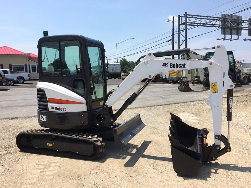 2017 BOBCAT E26 Mini Excavator