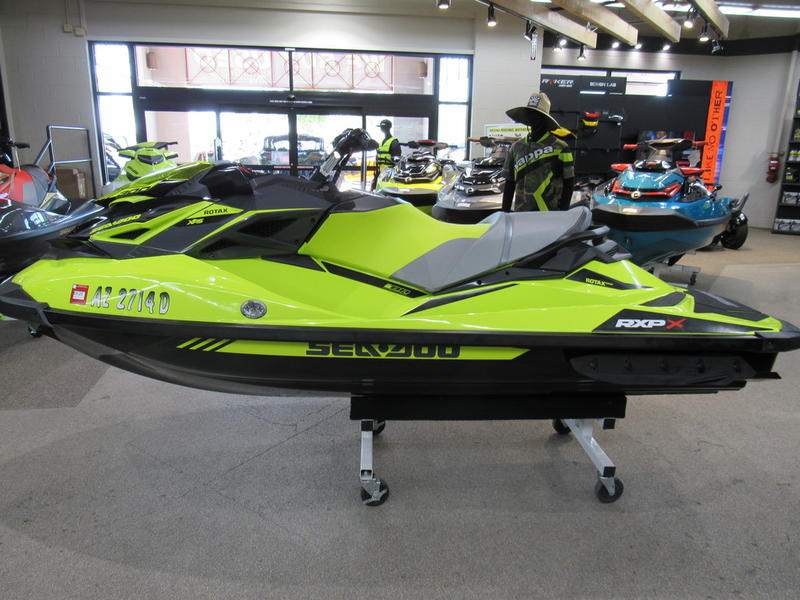 2019 Sea-Doo RXP®-X® 300 Neon Yellow and Lava Grey | RideNow