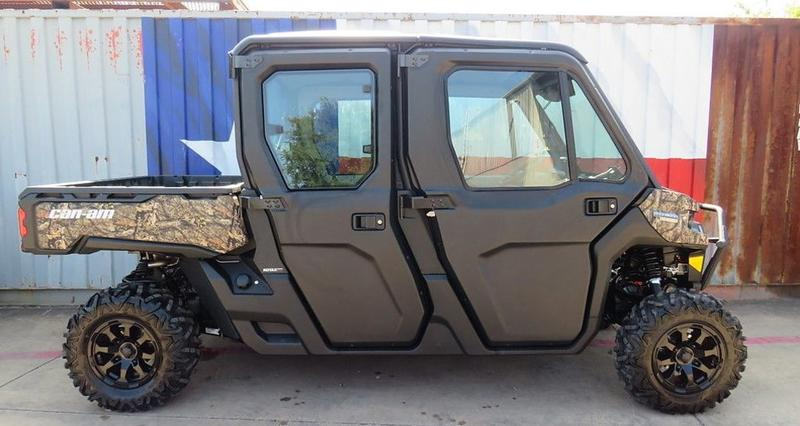 2021 Can-Am® Defender MAX Limited HD10 Mossy Oak Break-Up ...
