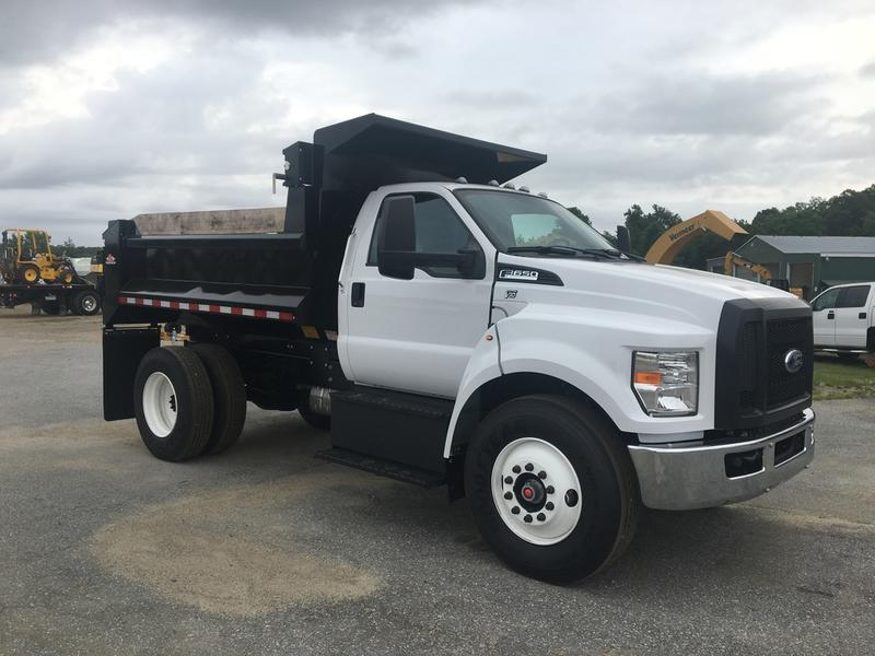 Ford Dump Truck >> 2017 Ford F650 Dump Truck For Sale 581797