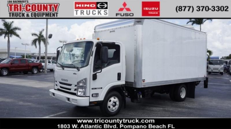 5b499948f5 2018 Isuzu Trucks NPR-HD 16FT BOX TRUCK AND LIFTGATE T1598